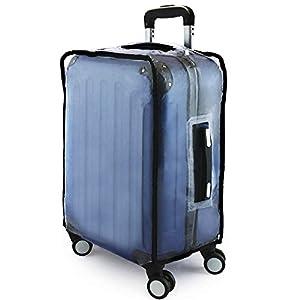 """PrimeMatik - Couvertures de valise imperméable de voyage housse protection 30"""" sac 48x31x64cm"""