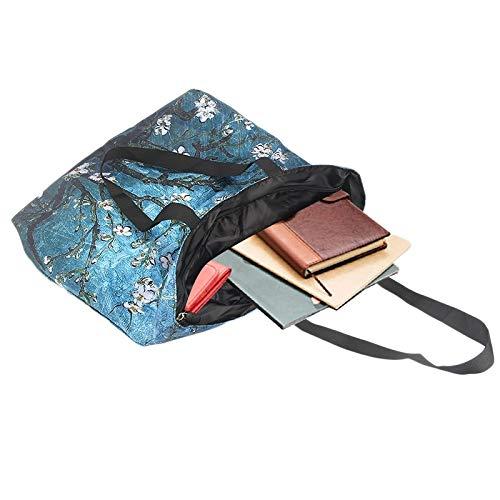d3b4a277fd ZXXFR Sexy Ragazza Impermeabile Eco Shopping Bag Travel Spalla Borsa ...