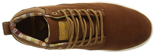 Emerica Wino Cruiser Hlt, Herren Skateboardschuhe Braun (brown/white/217)