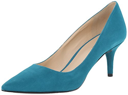 Nine West Margot Donna US 8.5 Blu Tacchi
