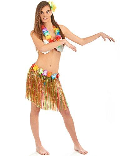 Kostüm Bikini Kokosnuss - Generique - Hawaii-Set Einheitsgröße