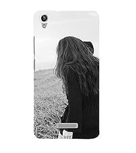 EPICCASE Long Hair Girl Mobile Back Case Cover For Lava Pixel V1 (Designer Case)