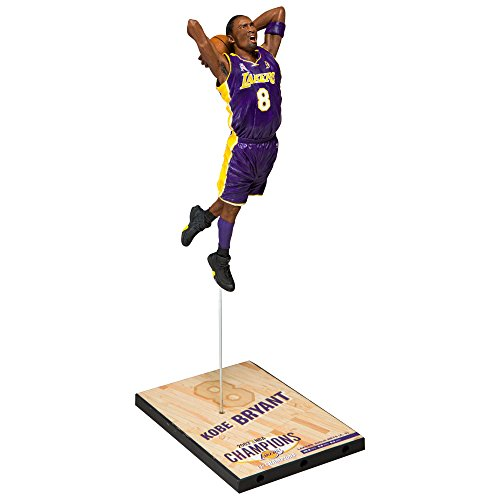 McFarlane NBA KOBE BRYANT #8 - Los Angeles Lakers Championship Series 2002 Figur