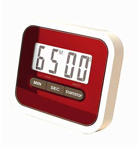 Vi.yo Temporizador de cocina digital superideal temporizador Contador de cuenta regresiva digital LCD Cocina magnética temporizador de cocina incluye clip para la ropa