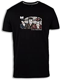 Weekend Offender Men's Garrison Limited Edition Peaky blinder T-Shirt Black