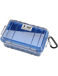 Pelican 1050 MicroCase - Caja (Policarbonato, Azul, 160 mm, 93 mm, 70 mm, 380 g)