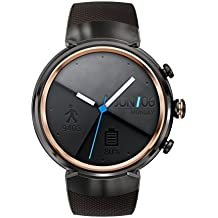 Asus - ZenWatch 3WI503Q-1RGRY0001(3,5cm), AMOLED, 400x 400Qualcomm Snapdragon Wear 2100. 512MB, 4GB, Android Wear. Color Marrón Oscuro