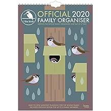 I Like Birds 2020 A3 Family Organiser
