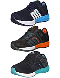 Ethics Perfect Combo Pack Of 3 Premium Sport Shoes For Men