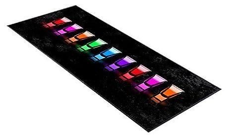 Shots Multicoloured design Bar Runner great gift idea home bar shop cocktail party advertising tool bar mat