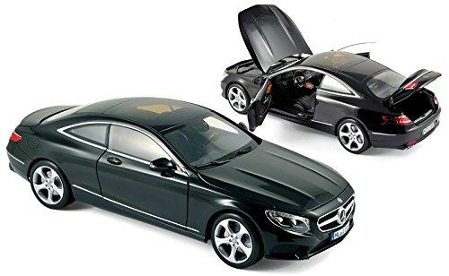 MERCEDES S-CLASS COUPE' 2014 BLACK 1:18 Norev Auto Stradali modello modellino die cast
