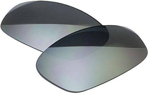 Zero Ersatz-Objektive für Oakley Split Jacket Sonnenbrille, Slate Mirror