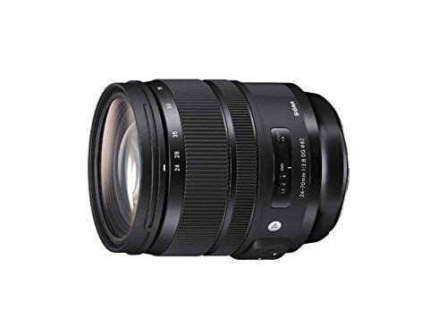 Sigma 24-70mm F2,8 DG OS HSM Objektiv (Filtergewinde 82 mm) für Canon Objektivbajonett schwarz