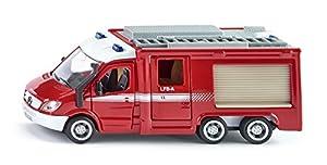 SIKU - 2113 - Vehículo Ready - Modelo a Escala - Fire 6 X 6 - Escala 1/50 - Metal