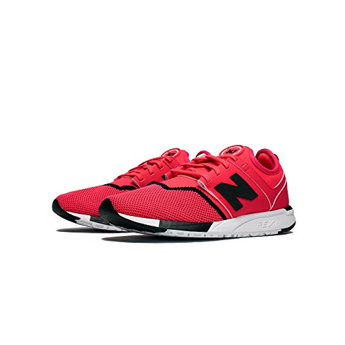 New Energy Balance Herren Red 247 Schwarz Sneaker Black with XaXfgqnrx