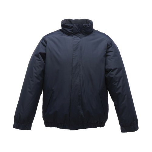 Regatta Mens Dynamo Waterproof Hooded Bomber Jacket Dark Navy