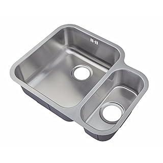 Kitchen Sinks Under Counter Mount 1.5 Bowl Satin Finish (D12L)