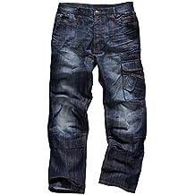 Scruffs Hombres De Comercio Denim pantalones, hombre, Trade Denim, azul, Size 32R