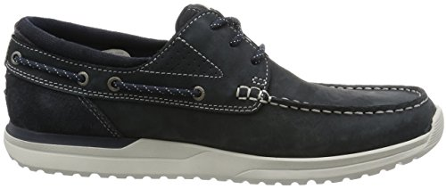 Rockport Langdon 3 Eye Herren Schuhe Blau Blue