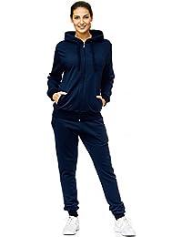 online store f54e3 98df4 Donna Tuta Jogging   Uni 586   Formazione della tuta in 100% cotone    Formazione
