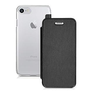 kwmobile Apple iPhone 7/8 Hülle - Handyhülle für Apple iPhone 7/8 - Handy Case Schutzhülle Klapphülle