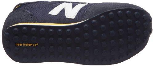 New BalanceKE410NYY - Sneaker Unisex - Bambini Blu (Navy/Giallo)