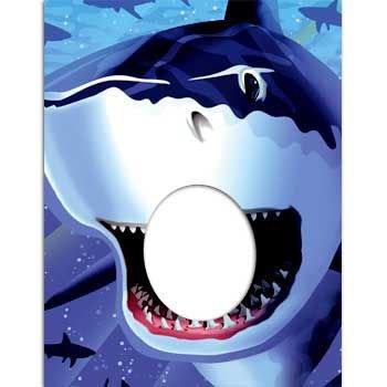 Preisvergleich Produktbild Bissiger Hai Foto-Poster für coole Fotos!