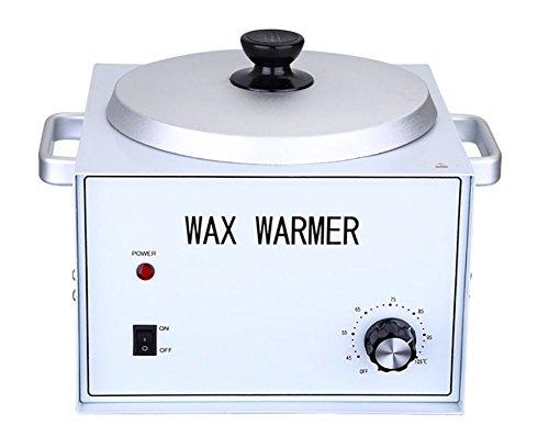 QQWAX Enthaarungsmittel Heizung Wachswärmer Wachserhitzer Single Topf Schnell Schmelze Professionel Heizung Haar Entfernung zum Alle Wachse (Weich, Hart, Paraffin)