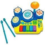 PIANO BATERÍA MUSICAL INFANTIL