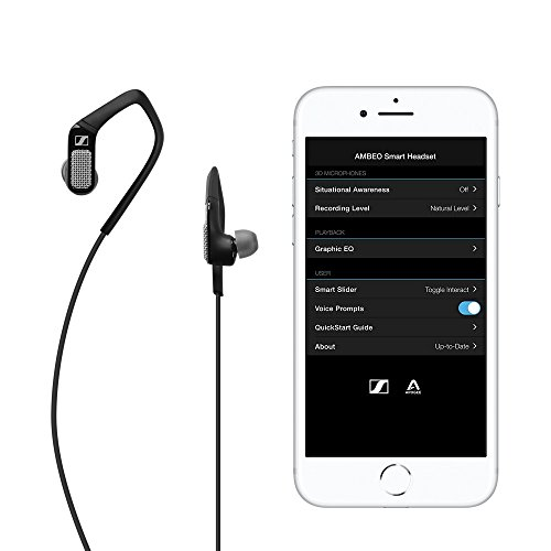 Sennheiser (Apogee) Ambeo Smart Headset (iOS) per video 3D Sound–nero
