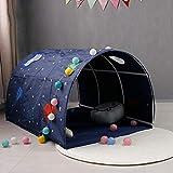 ypyrhh Tenda da Campeggio per Bambini, Tenda da Campeggio sicura per Ragazzi e Ragazze, Blu, Tenda da Lancio per Bambini Tech Mppool, Tenda da Gioco per Bambini, Adatta per Bambini da 4 a 12 Anni