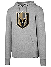 47 Forty Seven Brand Las Vegas Golden Knights NHL Knockaround Headline Hoody Slate Grey ·