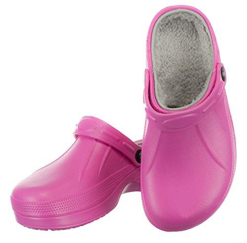 Brandsseller Pink / Grey Sabots Pour Femmes