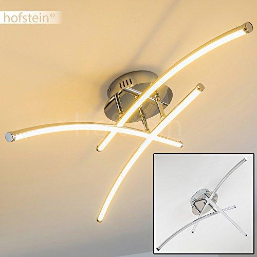LED Deckenleuchte Orilla - schwenkbare Decken-Lampe 3000 Kelvin warmweißes Licht - Wohnzimmerleuchte mit verstellbaren Lichtleisten - LED Deckenlampe 3-flammig