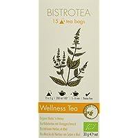 Bistrotea Bio Wellness Tea - Kräutertee, 2er Pack (2 x 30 g)