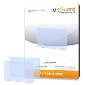 disGuard 3RX024039 Pack of 3 Anti-Reflective Screen Protectors for the Olympus OM-D E-M1