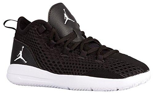 Nike 834130-021, Zapatos de Primeros Pasos para Bebés, Negro Black/White/Black/White, 28.5 EU