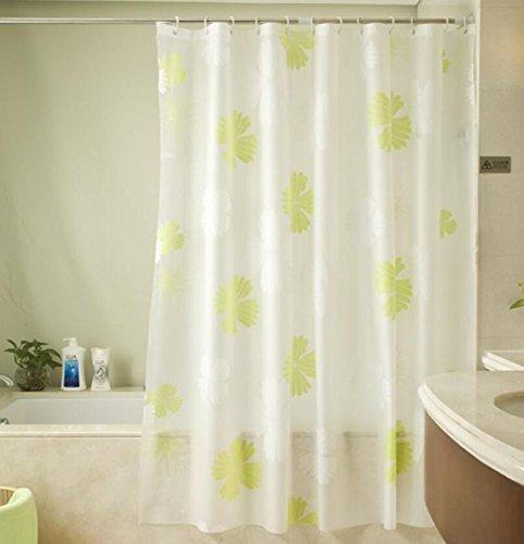 MDRW-Elegante Badezimmer Wasserdicht Schimmel Vorhang Vorhang Mit Frischen Verdickte Toilettew280 * H200