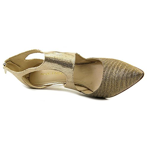 Marc Fisher Kabriele Toile Talons Gold Multi