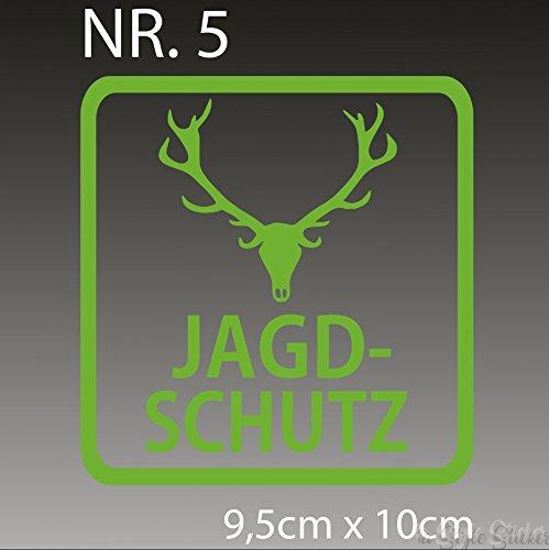 Jagdschutz Aufkleber Forst Zubehör Jäger Set Jagd Messer (Freie Aufkleber Jagd)