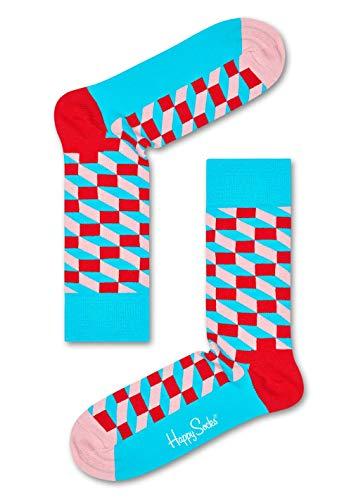 Machen Könige Kostüm Drei - Happy Socks Filled Optic - Blue/Red -M/L