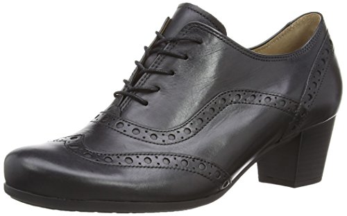 Gabor Denver 05.460 Damen Schnürhalbschuhe, Black (Black Leather), 37 EU (4 UK)