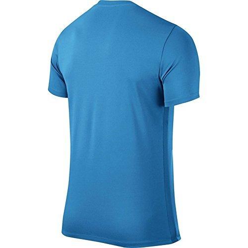 Nike SS Park Vi Jsy, Maglietta Sport, Uomo Blu (University Blue/White)