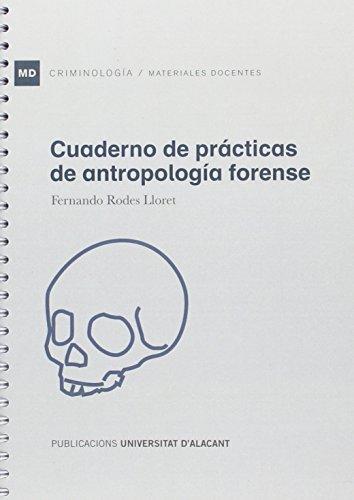 Descargar Libro Cuaderno de prácticas de antropología forense (Materiales docentes) de Fernando Rodes Lloret