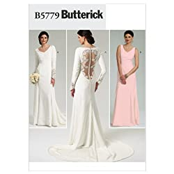 Butterick Patterns B5779AX5 Misses' Dress Sewing Pattern, Size AX5 (4-6-8-10-12)