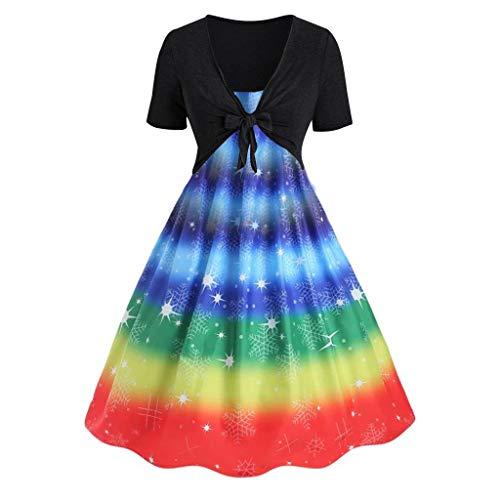 en Schmetterling Slingkleid Set Sommer Kleid Druckkleid Cardigan Zweiteiliges Set Lässig und Abend Mini Schlankes Kleid Damen Party Elegantes Ärmelloses Strand Kleid ()