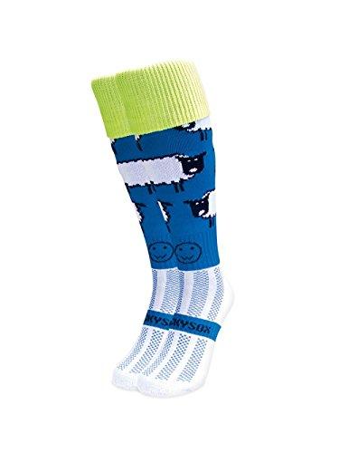 WackySox BAA-Barians Sport-Socken Adult Shoe Size 7-11 (Frauen Socken Knie-hohe Fun)