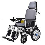 T.Kerry Elektrischer Rollstuhl, Voll Zu Hause Liegender Tragbarer Klappstuhl, Vierrädrige Behinderte, Ältere Roller