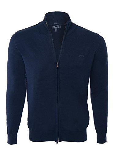 giorgio-armani-jeans-cardigan-uomo-zip-navy-blue-s