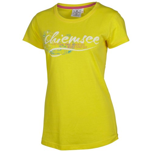 Chiemsee Femme T-Shirt Emma blazing yellow
